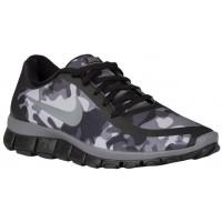 Nike Free 5.0 V4 Femmes chaussures de course noir/gris DEC326