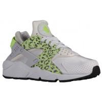 Nike Air Huarache Premium Femmes chaussures de course blanc/vert clair VRQ677