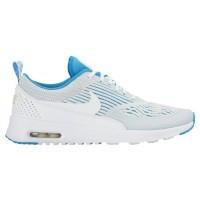 Nike Air Max Thea Femmes chaussures de course blanc/bleu clair IFI266