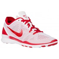 Nike Free 5.0 TR Fit 5 Femmes sneakers blanc/rouge NVF943