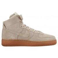 Nike Air Force 1 High Suede Femmes sneakers blanc/bronzage JNM797