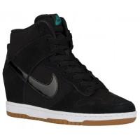 Nike Dunk Sky Hi Femmes chaussures noir/blanc YBP413
