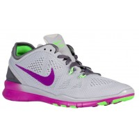 Nike Free 5.0 TR Fit 5 Femmes chaussures gris/violet XOU275
