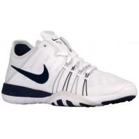 Nike Free TR 6 Femmes baskets blanc/bleu marin BML158