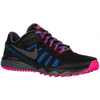 Nike Dual Fusion Trail 2 Femmes chaussures noir/rose ZIK888