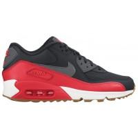 Nike Air Max 90 Femmes chaussures noir/rouge AIP347