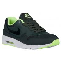 Nike Air Max 1 Ultra Femmes chaussures de course vert foncé/vert clair LBV583
