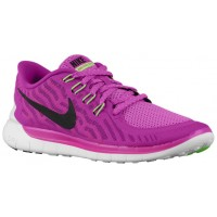 Nike Free 5.0 2015 Femmes chaussures de sport rose/noir JHB661