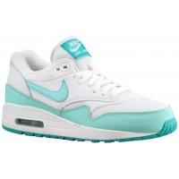 Nike Air Max 1 Essential Femmes chaussures de course blanc/bleu clair GQV190