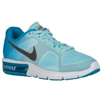 Nike Air Max Sequent Femmes baskets bleu clair/gris EUF996