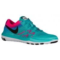 Nike Free TR Focus Flyknit Femmes chaussures de sport vert clair/noir PRS207