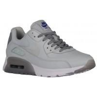 Nike Air Max 90 Ultra Femmes chaussures de course gris/bleu marin SBI809