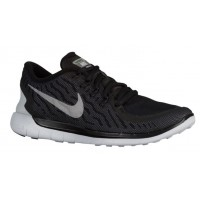 Nike Free 5.0 2015 Flash Femmes baskets noir/gris JES792