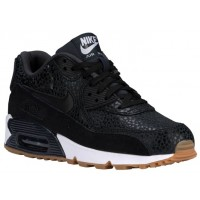 Nike Air Max 90 Femmes chaussures de course noir/blanc TYD656