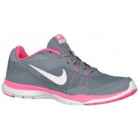 Nike Flex Trainer 5 Femmes chaussures de course gris/blanc LEK224