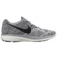 Nike Flyknit Lunar 3 Femmes chaussures gris/blanc MPD010