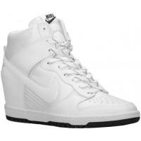 Nike Dunk Sky Hi Femmes chaussures de sport blanc/noir LEX501