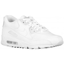 Nike Air Max 90 Hommes chaussures Tout blanc/blanc VQL426