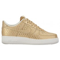 Nike Air Force 1 LV8 Hommes baskets or/blanc BZD181