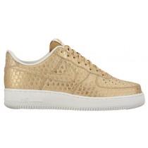 Nike Air Force 1 LV8 Hommes baskets or/blanc BZD181