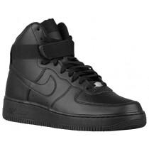 Nike Air Force 1 High Hommes sneakers Tout noir/noir TNX458