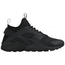 Nike Air Huarache Run Ultra Premium Hommes chaussures Tout noir/noir ELX252