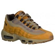 Nike Air Max 95 Premium Hommes chaussures de sport or/marron COI051