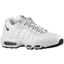 Nike Air Max 95 Hommes chaussures blanc/noir JIH653