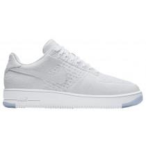Nike Air Force 1 Ultra Flyknit Low Hommes chaussures de sport blanc/blanc YSR079