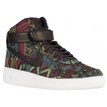 Nike Air Force 1 High Hommes sneakers noir/multicolore YXO555
