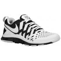 Nike Free Trainer 5.0 Weave Hommes chaussures de course blanc/noir HNV827