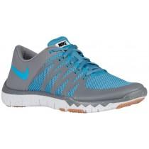 Nike Free Trainer 5.0 V6 Hommes chaussures de sport gris/bleu clair ROS125