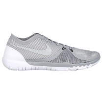 Nike Free Trainer 3.0 V4 Hommes chaussures gris/blanc TDO772