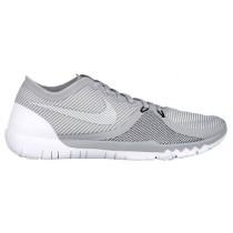 Nike Free Trainer 3.0 V4 Hommes chaussures gris/blanc TDO772
