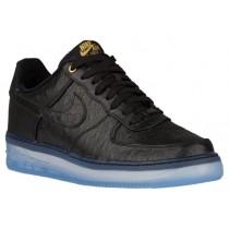 Nike Air Force 1 Comfort Luxury Hommes chaussures de sport noir/or KGZ666