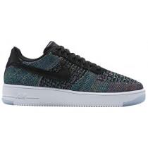 Nike Air Force 1 Ultra Flyknit Low Hommes baskets noir/multicolore PJE501