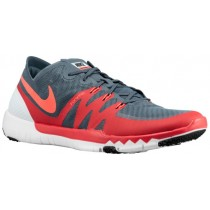 Nike Free Trainer 3.0 V3 Hommes chaussures de sport gris/rouge VBN322