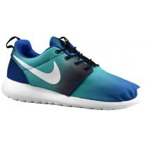 Nike Roshe One Hommes chaussures bleu/vert clair LDM628