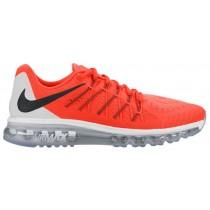 Nike Air Max 2015 Hommes chaussures de course Orange/noir DLY448