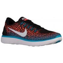 Nike Free RN Distance Hommes chaussures de sport noir/blanc NPI137