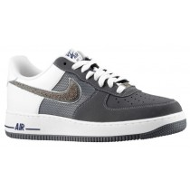 Nike Air Force 1 Low Nubuck Hommes baskets gris/blanc CUU791