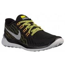 Nike Free 5.0 2015 Hommes baskets noir/argenté XGY161