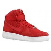 Nike Air Force 1 High Hommes baskets rouge/blanc GZV421