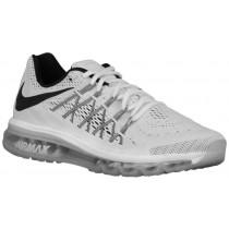 Nike Air Max 2015 Hommes chaussures blanc/noir KMU887