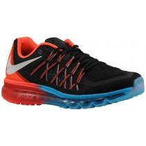 Nike Air Max 2015 Hommes chaussures de sport noir/Orange QCJ052