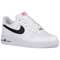 Nike Air Force 1 Low Hommes chaussures de sport blanc/noir NKI252