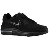 Nike Air Max Wright Hommes chaussures de course Tout noir/noir HOZ336