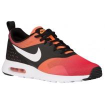 Nike Air Max Tavas Hommes chaussures de sport noir/Orange NLP942
