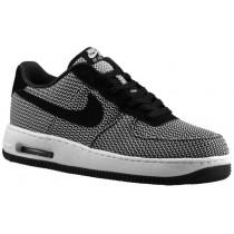 Nike Air Force 1 Low Elite Textile Hommes sneakers blanc/noir CWU795