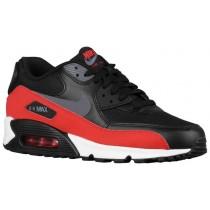 Nike Air Max 90 Essential Hommes chaussures de sport rouge/gris EKD658